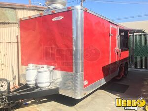 2013 8.5' x 21' Freedom Food Concession Trailer w/ Porch for Sale in California!