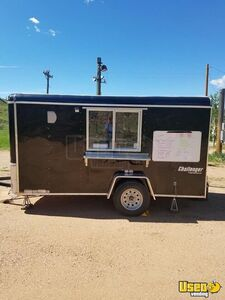 Fresh Lightly Used 2019 6' x 12' Challenger Homestead Food Concession Trailer for Sale in Colorado!