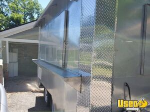 2017 - 8' x 12'All Stainless Steel Food Concession Trailer for Sale in Colorado!