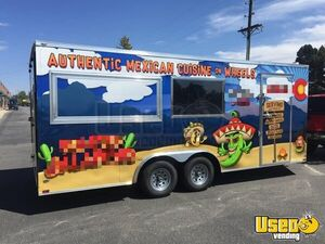 2017 - 8.5' x 20' Food Concession Trailer for Sale in Colorado!!!