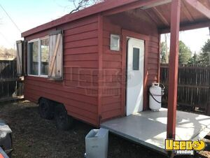 8.5' x 20' Food Concession Trailer with Porch for Sale in Colorado!!!