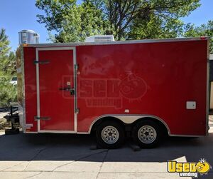 2010 - 8.5' x 16' Freedom Food Concession Trailer for Sale in Colorado!!!