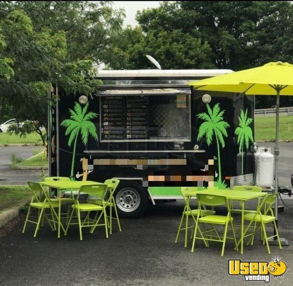 2015 - 7' x 12' Mobile Kitchen Food Concession Trailer for Sale in Connecticut!!