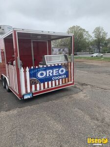 2018 8.5' x 20' Wow Cargo Food Concession Trailer w/ Porch and Pro Kitchen for Sale in Connecticut!