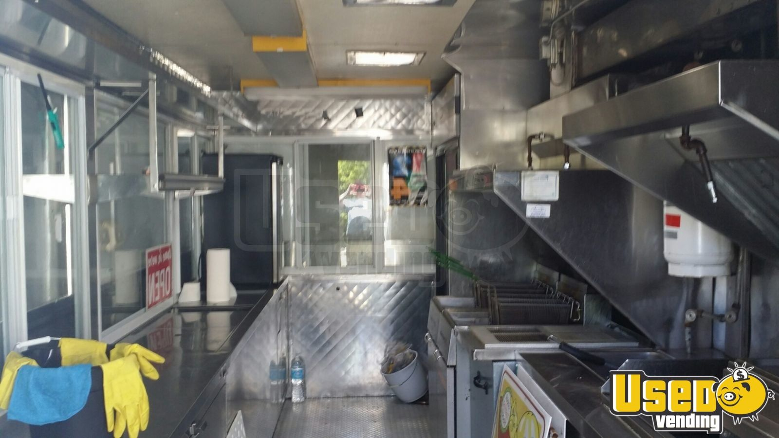All-purpose Food Trailer Diamond Plated Aluminum Flooring Ontario for Sale - 2