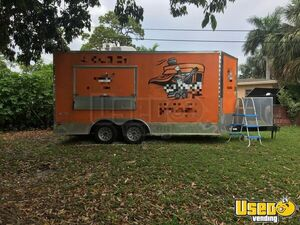 2015 - 8.5' x 23' Freedom Food Concession Trailer for Sale in Florida!!!
