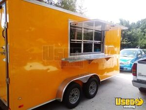 2019 7' x 16'  NEW Loaded Freedom Food Concession Trailer for Sale in Florida!!!