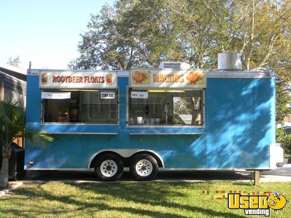 8.5' x 20' Food Concession Trailer for Sale in Florida!!!