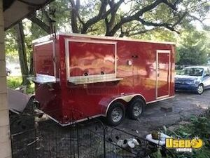 2019 - 7' x 16' Freedom Unused Food Concession Trailer for Sale in Florida!!!