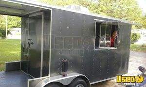 2013 - 20' Food Concession Trailer with Porch for Sale in Florida!!!