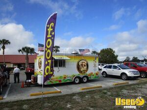 2008 - 18' X 8.5' Southwest Trailer Food Concession Trailer for Sale in Florida!