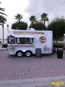 2012- 8.5' x 16' Mobile Kitchen Concession Trailer for Sale in Florida!