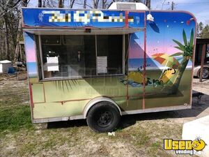 Used 2012 Shaved Ice / Snowball or Food Concession Trailer for Sale in Florida!