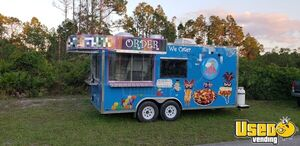2018 - 8.5' x 18' Food Concession Trailer for Sale in Florida!!!