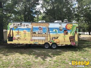 8.5' x 27' Food Concession Trailer with Truck for Sale in Florida!!!