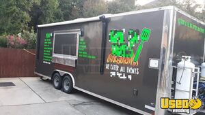 2019 - 8' x 24' Anvil Food Concession Trailer w/ Bathroom for Sale in Georgia!
