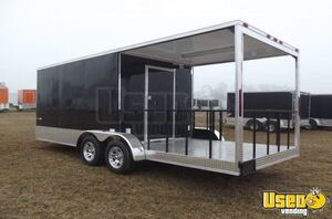 Never Used 2018 7' x 20' AAA Trailer Distributors Concession Trailer with Porch for Sale in Georgia!