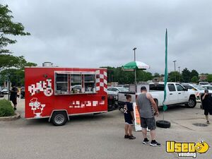 2014 - 7' x 12' Food Concession Trailer Mobile Kitchen  for Sale in Illinois!!!