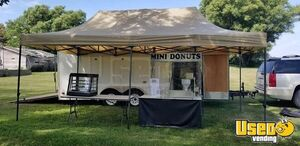Turnkey Fully Equipped 2003 United Express Mini-Donut Stand Business with Trailer for Sale in Iowa!