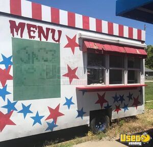 15' Used Carnival Food / Beverage Concession Trailer for Sale in Kansas!!!