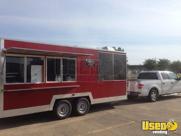 2014 - 24' Food Concession Trailer for Sale in Louisiana!!!