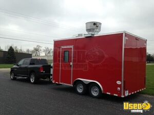 "2016 Custom 8'6"" x 14 Mobile Kitchen Concession Trailer for Sale in Maryland!"