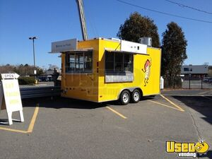 2010 - 8.5' x 16' Food Concession Trailer for Sale in Massachusetts!!!