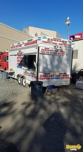 Used 8' x 24' Food Concession Trailer with Pro Fire Suppression System for Sale in Massachusetts!