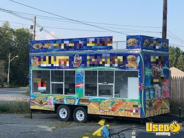 Food Concession Trailer for Sale in Massachusetts!!!