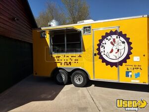 2015 - 8.5' x 16' Mobile Kitchen Food Concession Trailer for Sale in Michigan!!!