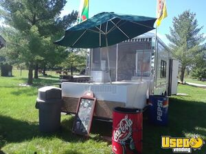 2016 - 8.5' x 16' Food Concession Trailer for Sale in Michigan!!!