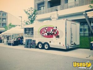 Used 8.5' x 20' 2013 Freedom Food Concession Trailer for Sale in Missouri!
