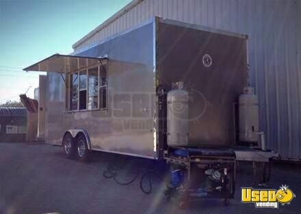 8 5 X 20 Food Concession Trailer Mobile Kitchen For Sale In Montana