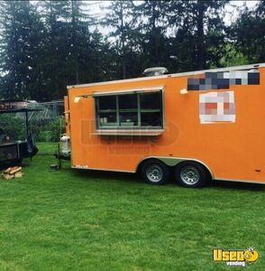 2017 - 8'x 16' Mobile Kitchen Food Concession Trailer for Sale in New Jersey!!!