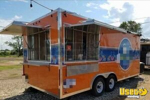 2015 -  8.5' x 20' Concession Nation Used Food Trailer for Sale in New Jersey!!!