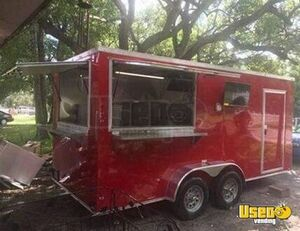 Never Used 2019 7' x 16' Snapper Food Concession Trailer/Mobile Kitchen Unit for Sale in New Jersey!