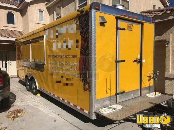 2012 - 8.5' x 24' Food Concession Trailer for Sale in New Mexico!!!