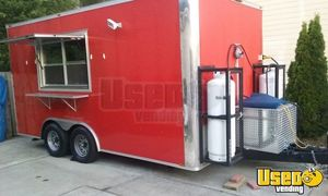 2017 - 8.5' x 16' Food Concession Trailer for Sale in New Mexico!!!