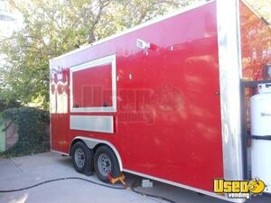 2015 - 8.5' x 16' Food Concession Trailer with Truck for Sale in New Mexico!!!