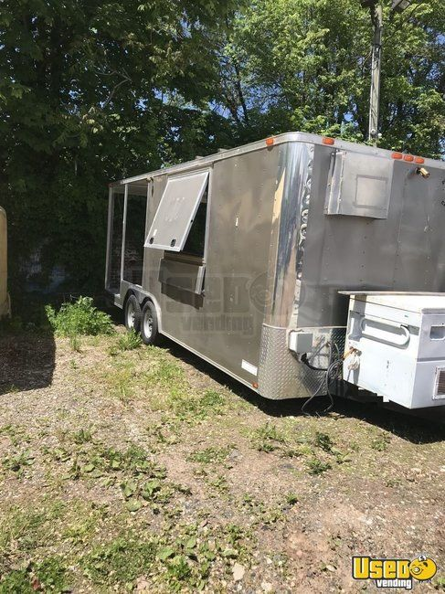 2016 - 8' x 20' Food Concession Trailer with Porch for Sale in New York!!!