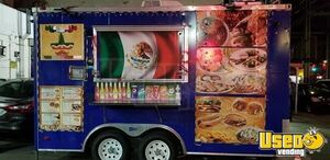 Used 2010 - 8' x 14' All American Food Concession Trailer for Sale in New York!