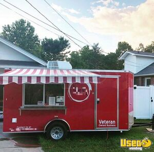 Used 6' x 14' All Electric Food Concession Trailer for Sale in North Carolina!