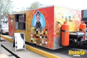 8' x 20' Food Concession Trailer for Sale in North Carolina!!!