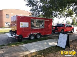 2018 - 8' x 16'  Food Trailer for Sale in North Carolina- Turnkey Business!