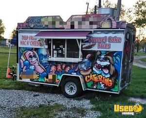 2017 - 6.5' x 12' Turnkey Food Concession Trailer for Sale in Ohio!!!