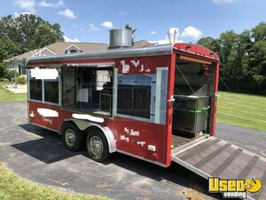 22' 2002 Avenger Concession Trailer for Sale in Ohio, Loaded and Turnkey!