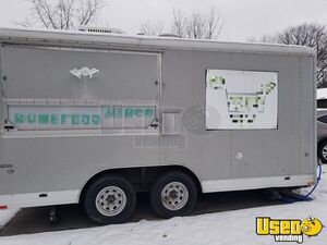 2008 - 8' x 22' Wells Cargo Used Food Concession Trailer for Sale in Ohio!!!