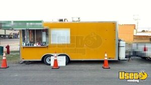 2013 - 8.5' x 20' Food Concession Trailer in for Sale Oklahoma TURNKEY!