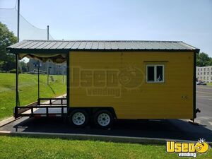 2012 9' x 20' Custom Multi-Use Food Trailer with Porch for Sale in Pennsylvania!