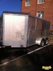All-purpose Food Trailer Prep Station Cooler Virginia for Sale